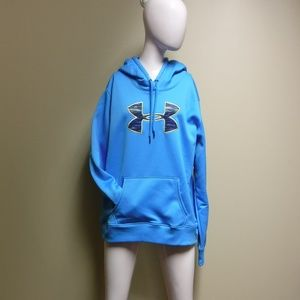 Women's Under Armour Light Blue Sweatshirt Sz XL